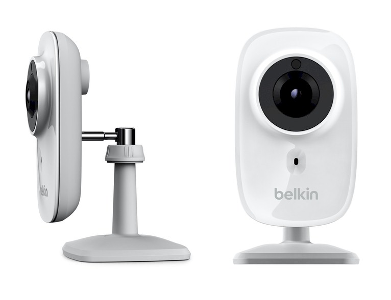 C mara vigilancia belkin netcam hd plus wifi para ios y for Camara vigilancia movil