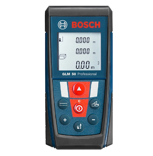 Medidor l ser bosch glm 50 profesional blauden electronics - Medidor laser bosch ...