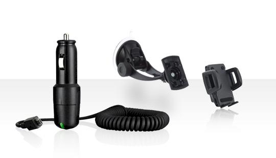 Con el kit de soporte Sony Ericsson CK100 mantén las manos al volante y los ...