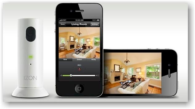 Izon 2 0 una c mara wifi de vigilancia para tu iphone o - Camaras de vigilancia con grabacion ...