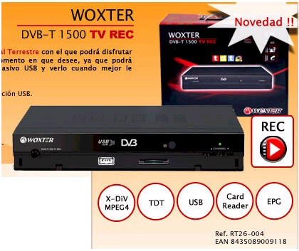 woxter media player
