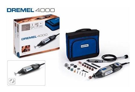 Multiherramienta dremel 4000 cf 45 accesorios blauden - Precio dremel 4000 ...
