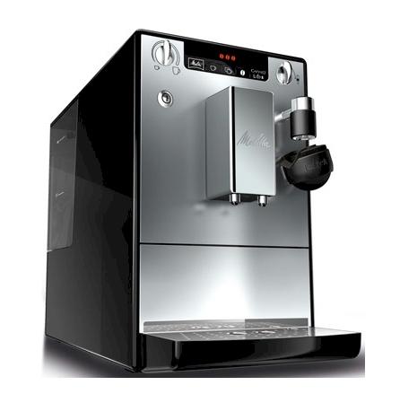 Cafetera espresso melitta caffeo lattea e955 103 plata negro blauden electronics - Cafetera con molinillo incorporado ...