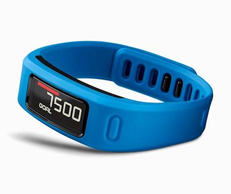 Pulsera fitness Garmin Vivofit azul