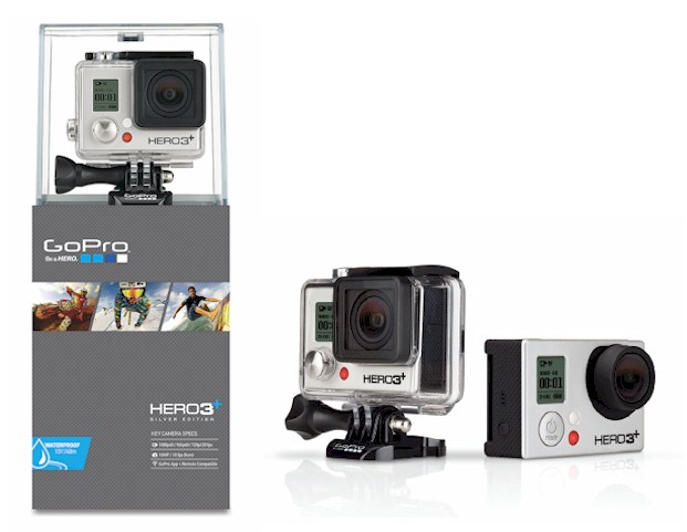 c mara gopro hero3 plus silver edition blauden electronics. Black Bedroom Furniture Sets. Home Design Ideas