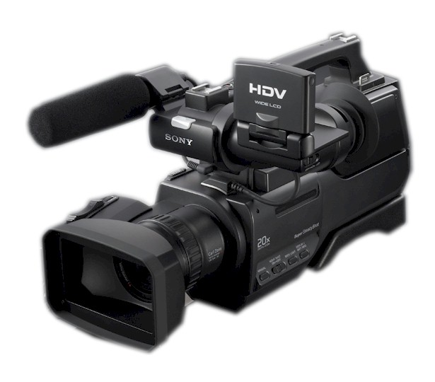 Sony HVR-HD1000, videocámara profesional HDV   Blauden ...