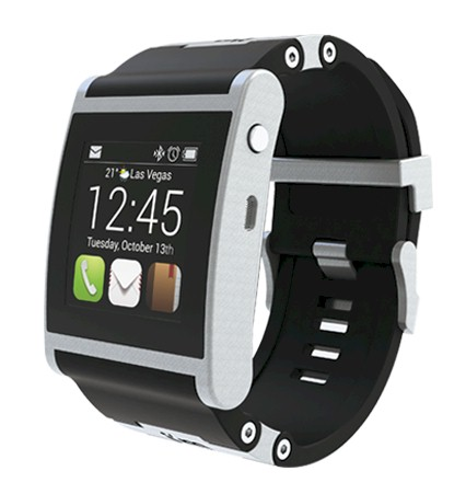 I am Watch negro, reloj con Android para Smartphones
