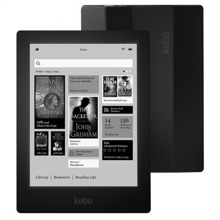 Lector ebooks Kobo Aura HD Negro
