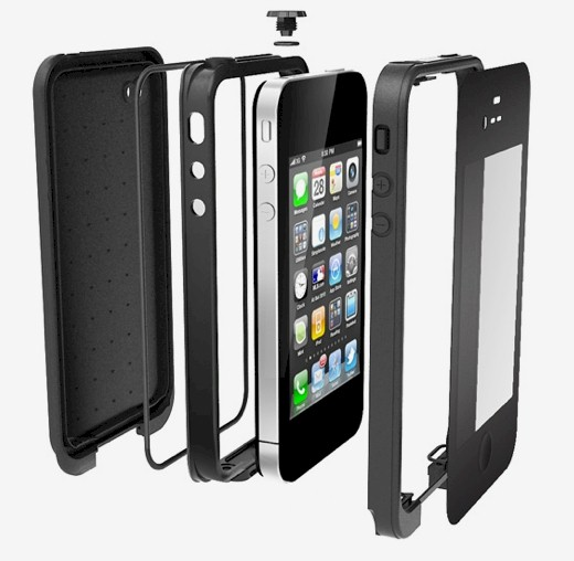 Funda protectora lifeproof iphone 4 4s negra blauden electronics - Fundas iphone 4 4s ...
