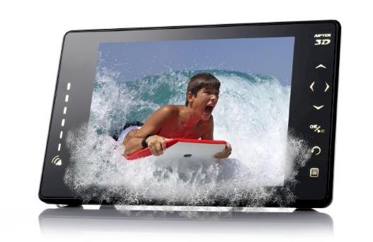 Da vida a tu fotos en 3D con el marco digital Aiptek 3D P8 | Blauden ...