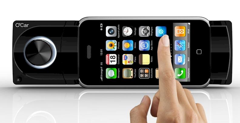 autoradio o car oxygen audio 4x55w para ipod y iphone. Black Bedroom Furniture Sets. Home Design Ideas