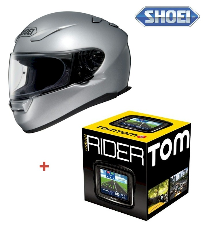 pack casco shoei xr1100 gps moto tomtom urban rider. Black Bedroom Furniture Sets. Home Design Ideas