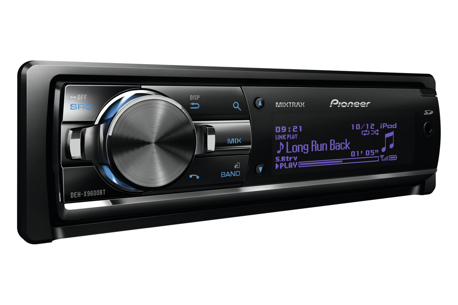 pioneer deh x9600bt radio cd con control ipod ranura tarjeta sd y usb blauden electronics. Black Bedroom Furniture Sets. Home Design Ideas