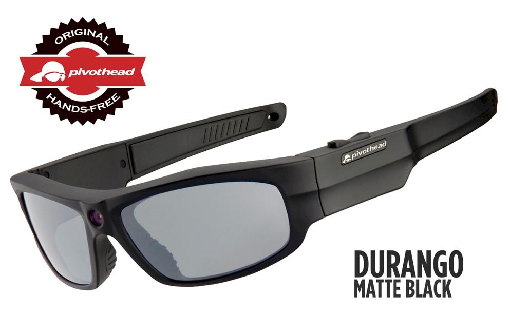 Gafas Pivothead Durango negro-mate con cámara HD 1080p