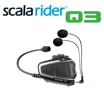 scala rider q3 intercom moto bluetooth multipunto con radio fm blauden electronics. Black Bedroom Furniture Sets. Home Design Ideas