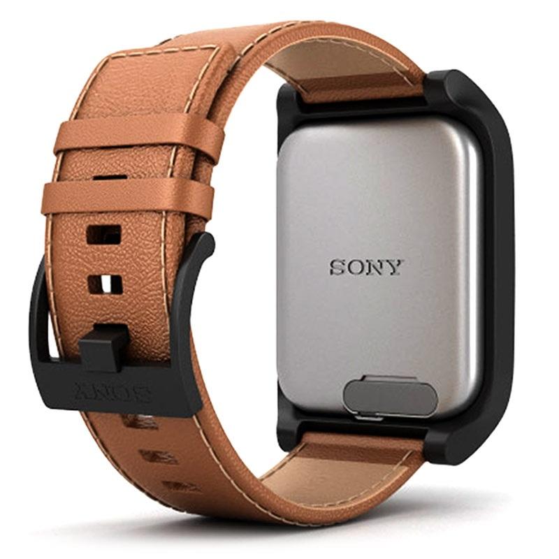 Reloj Sony SmartWatch 3 SWR50 correa piel marron