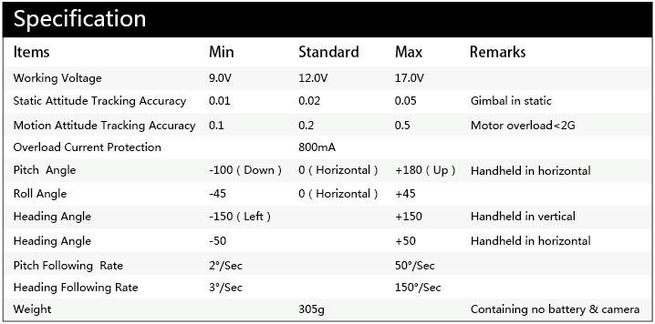 Steady gimbal G3 Ultra GoPro hero3 IV.jpg