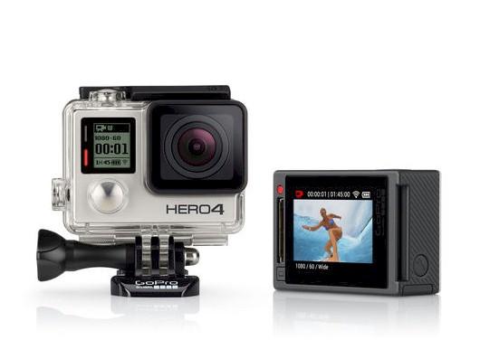 Gopro hero4 silver adventure edition action video camera.