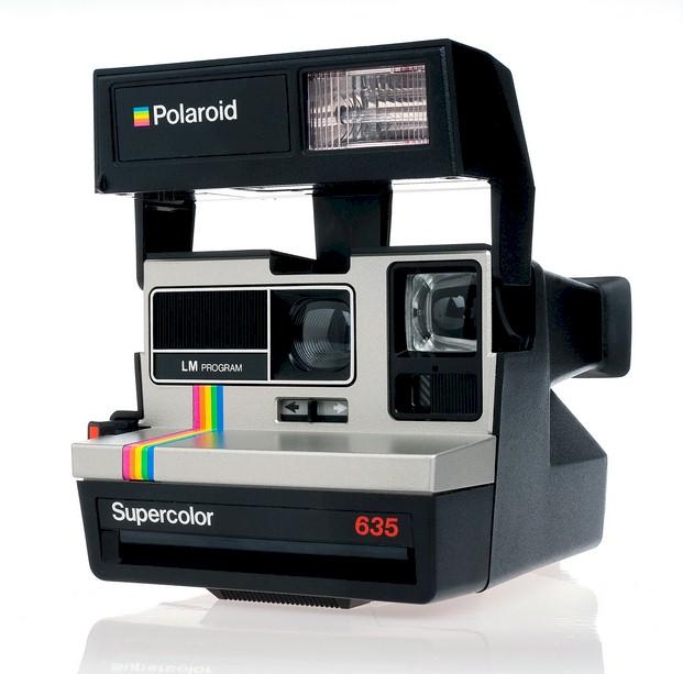 Cámara original Polaroid 635 + Película 2x8 fotos