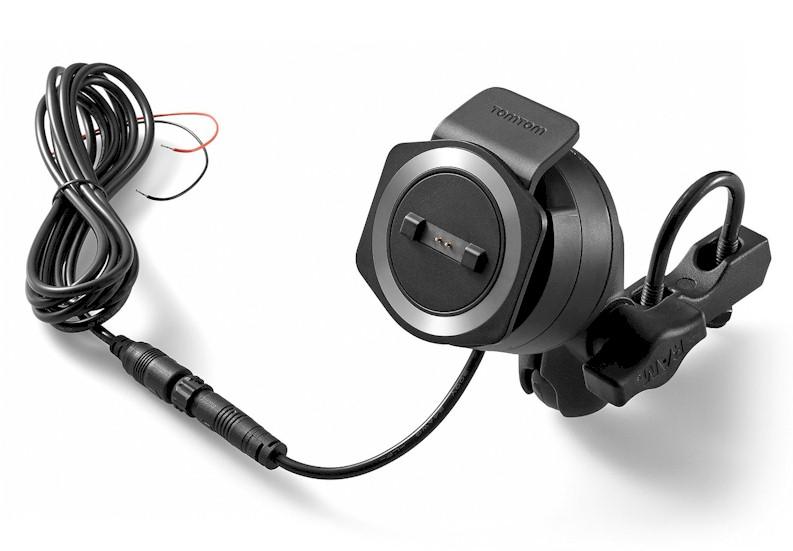 kit soporte moto tomtom rider 400 con cable de carga blauden electronics. Black Bedroom Furniture Sets. Home Design Ideas