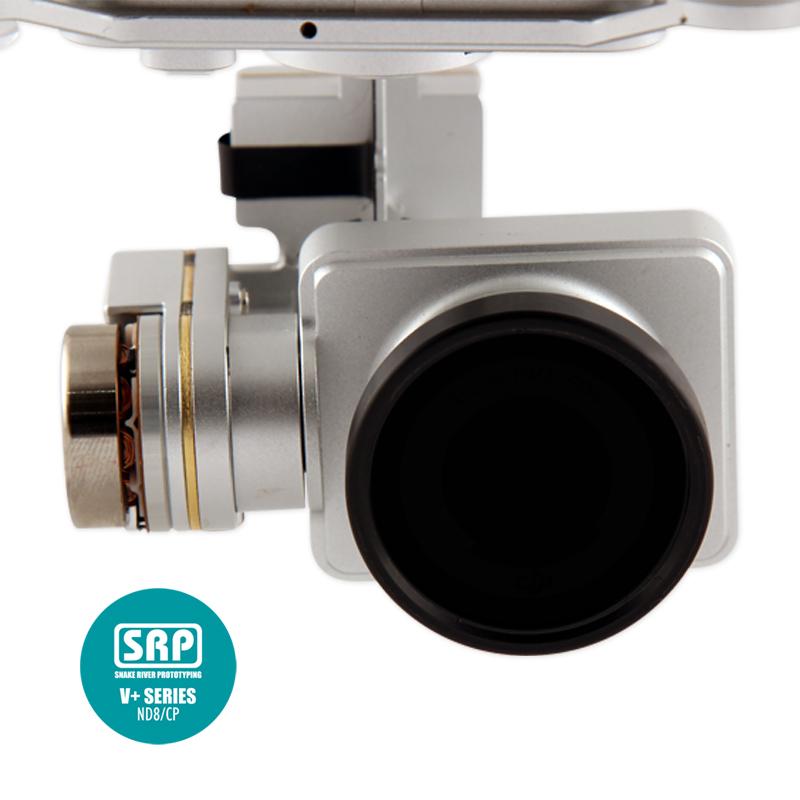Minifiltro SRP V Series ND8/CP para DJI Phantom 2 Vision +