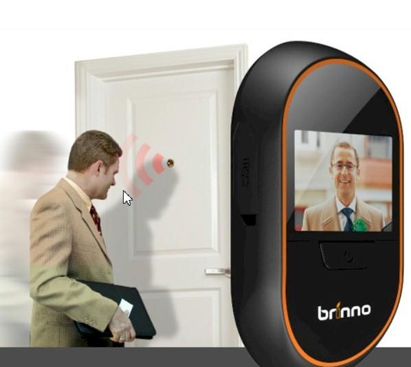 Mirilla Digital Brinno PVH-Mac con grabación y sensor de movimiento