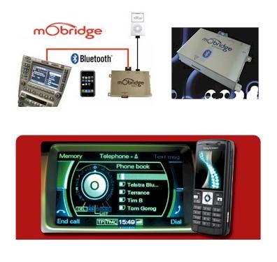 Mobridge bluetooth interface ipod y manos libres para for Mobridge bluetooth mercedes benz