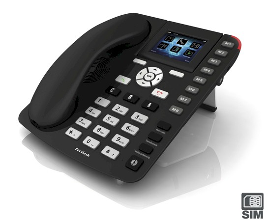 Tel fono fijo gsm tecdesk 3500 home tarjeta sim y for Telefono oficina vodafone