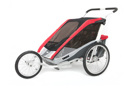 carrito remolque thule chariot cougar 2 rojo blauden. Black Bedroom Furniture Sets. Home Design Ideas